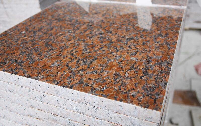 G562 Tile Red Granite Tiles Polished Red Granite Flooring Tiles