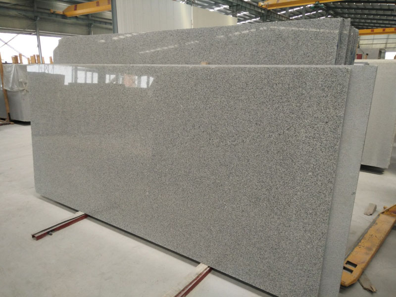 G603 Bianco Padang Crystal Luna White Pearl Grey White Granite Slabs