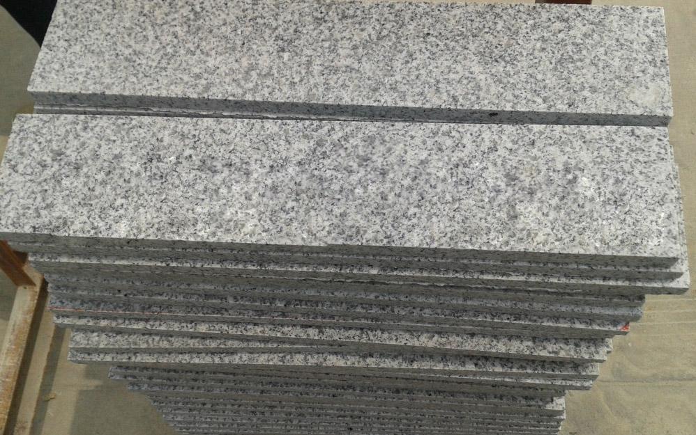 G603 Bianco White Granite Tiles Polished Granite Flooring Tiles