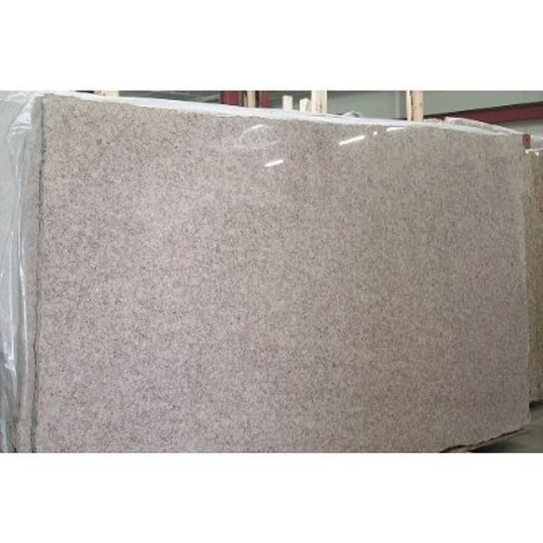 G611 Almond Pink Granite Polished Chinese Granite Slabs