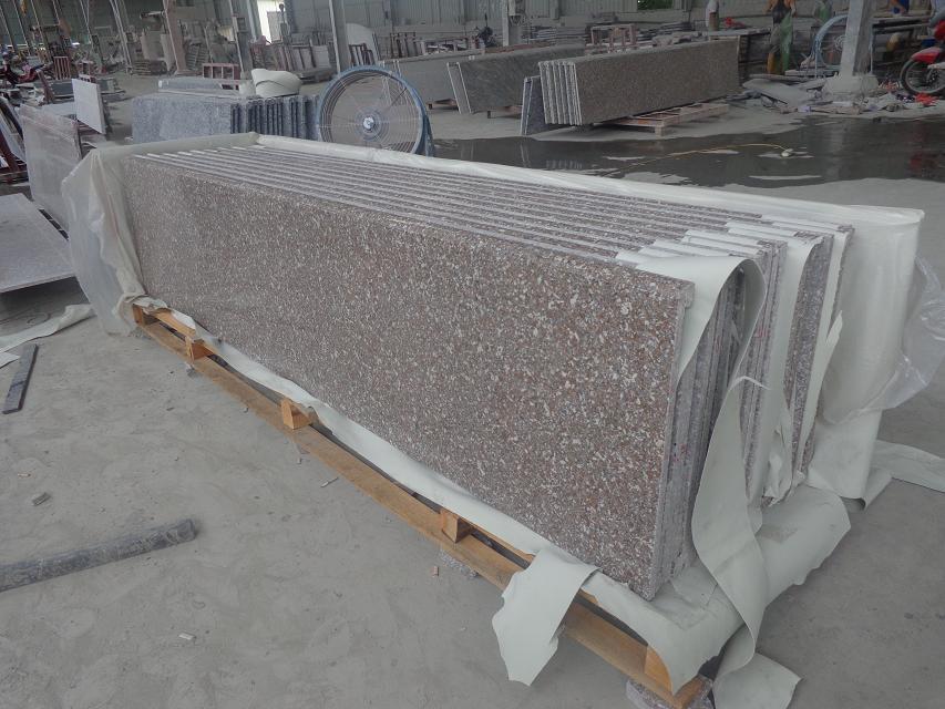 G648 Granite Countertop Polished Pink Granite Countertops
