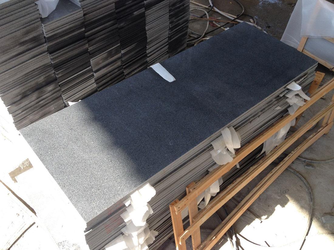 G654 Dark Grey Granite Countertops from China