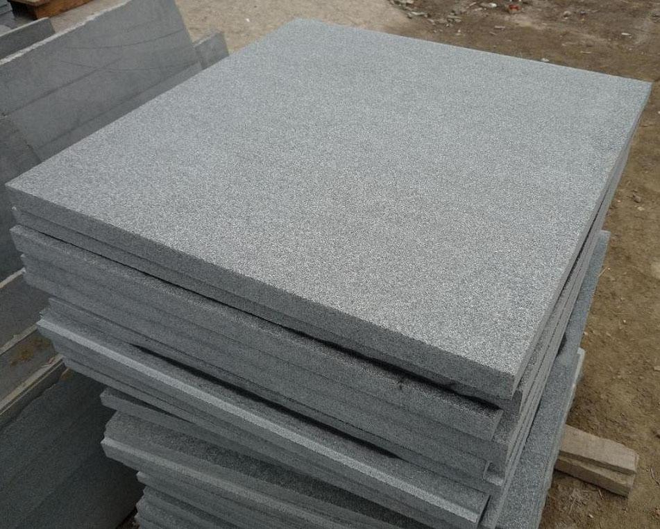 G654 Flamed Tiles Chinese Granite Flooring Tiles