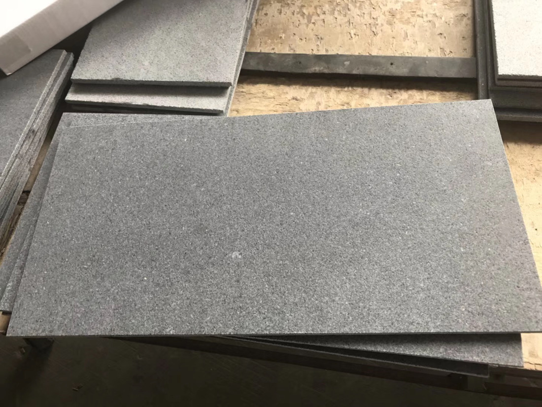 G654 Leather Granite Tiles Chinese Grey Granite Flooring Tiles