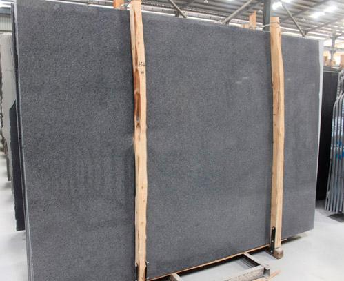 G654B Granite Polished Slabs Black Granite Slabs