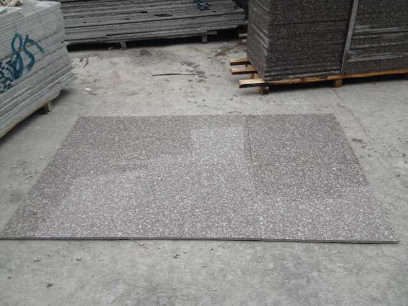 G664 Bainbrook Brown 10mm Ultra Thin Red Granite Tiles