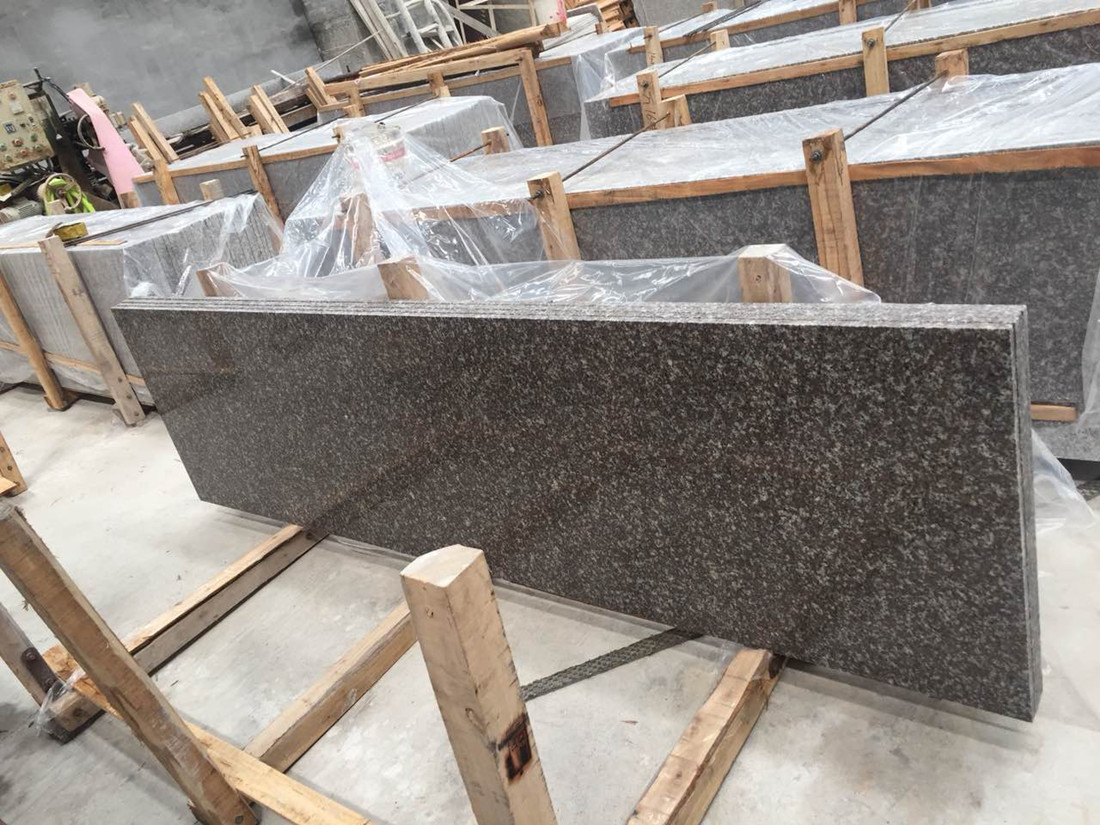 G664 Granite Slab Polished Grey Granite Stone Slabs