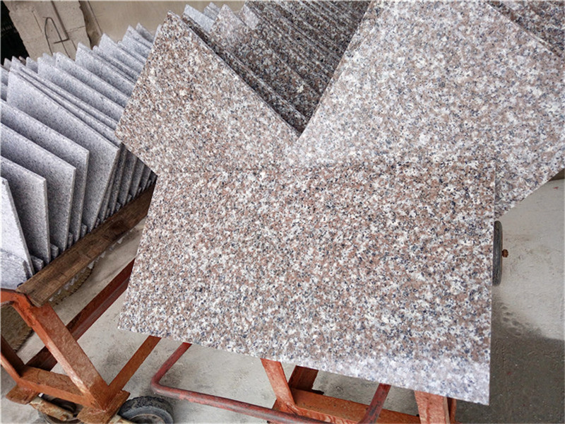 G664 Pink Granite Tiles Polished Tiles Paving Stone from China