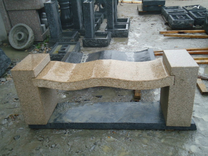 G682 Beige Granite Chair