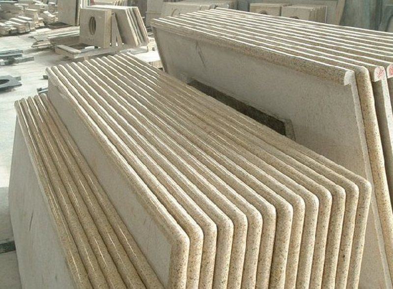 G682 Countertop Yellow Granite Countertops