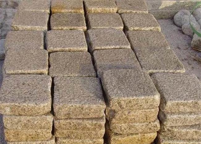 G682 Granite Pavers Yellow Granite Paving Stone