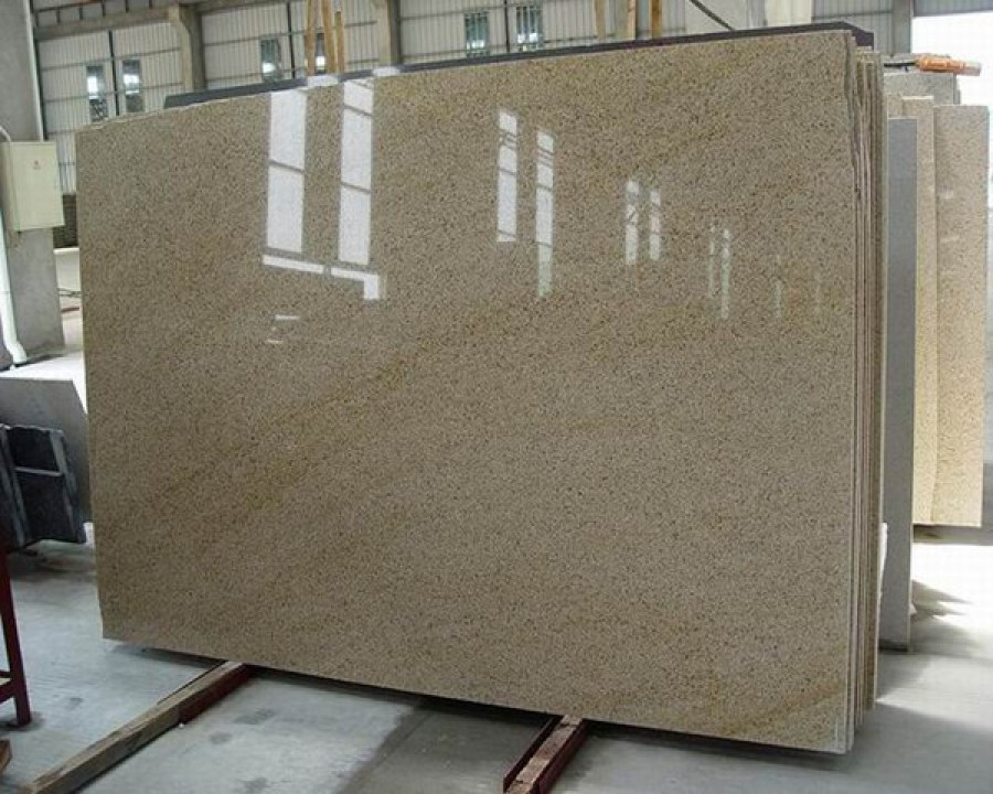 G682 Slabs Polished Yellow Chinese Granite Slabs