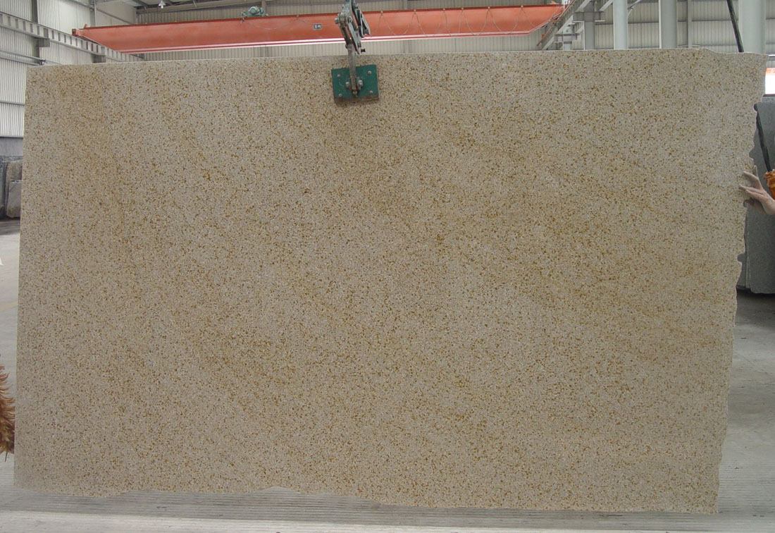 G682 Stone Slab Polished Beige Granite Slabs