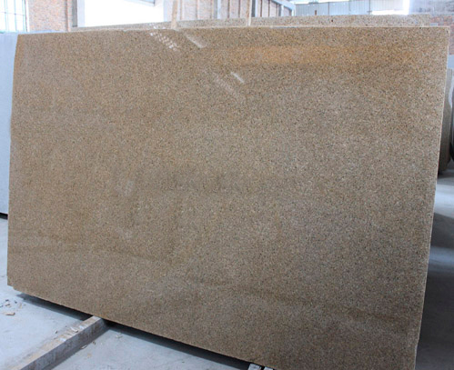 G682A Beige Polished Granite Stone Slabs