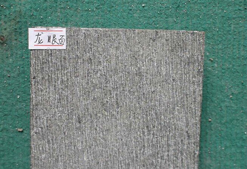 G684 Fuding Black Chiselled Surface Granite Tiles