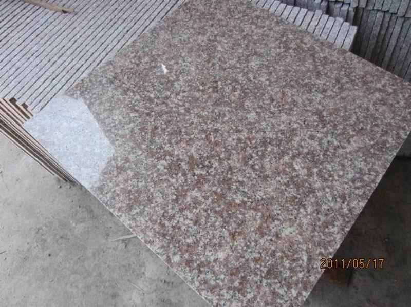 G687 Granite Pink Granite Flooring Tiles