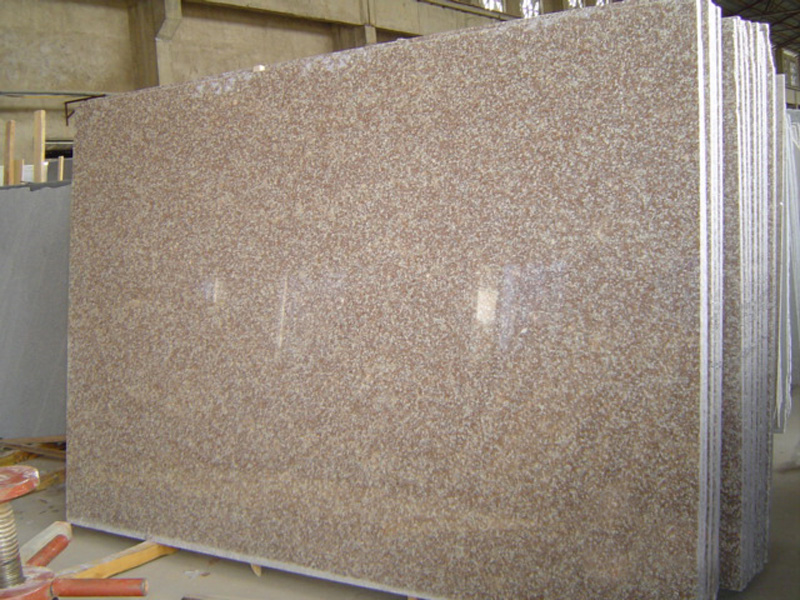G687 Polished Pink Granite Slabs