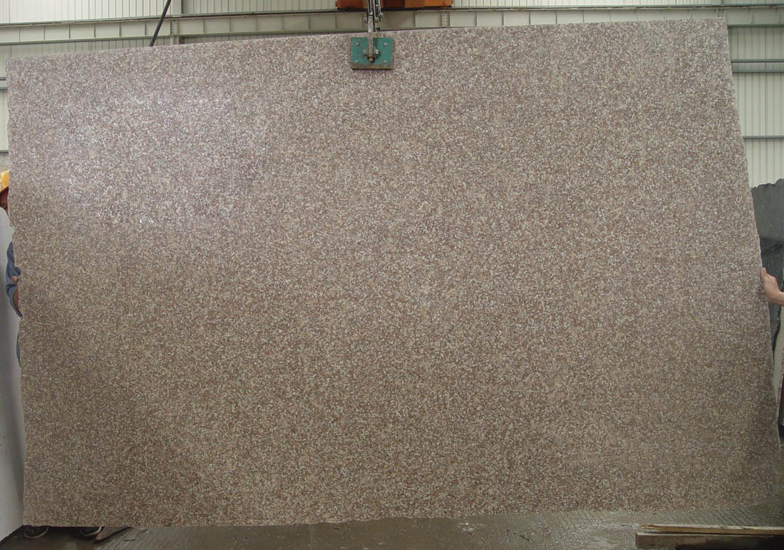 G687 Stone Slab Polished Pink Granite Slabs