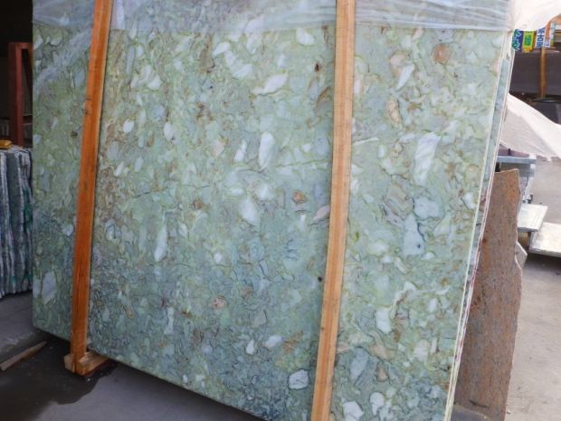GREEN SHELL MARBLE SLAB Marble in Slabs