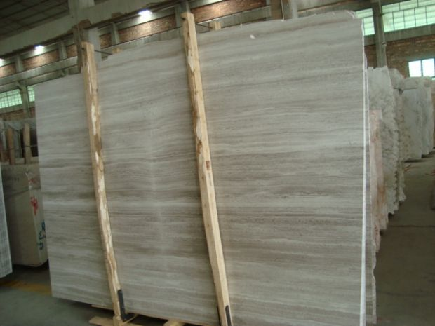 GUIZHOU WOOD VEIN WHITE SERPENGIATE Marble in Slabs