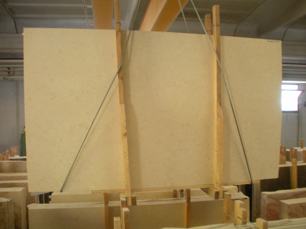 Galala Beige Marble Slabs Egyptian Top Quality Marble Slabs