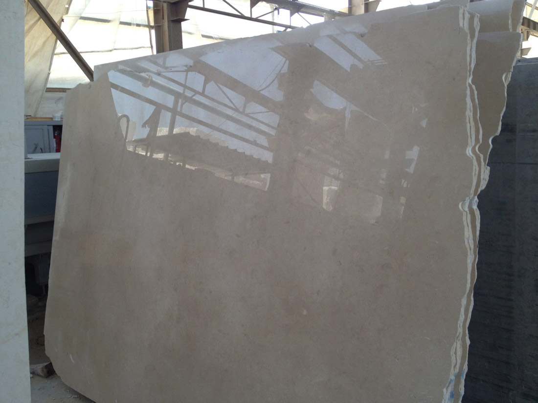 Galala Beige Polished Egyptian Marble Slabs