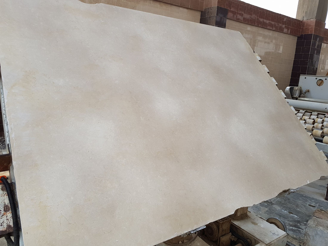 Galala Extra Slabs Beige Marble Slabs from Egypt