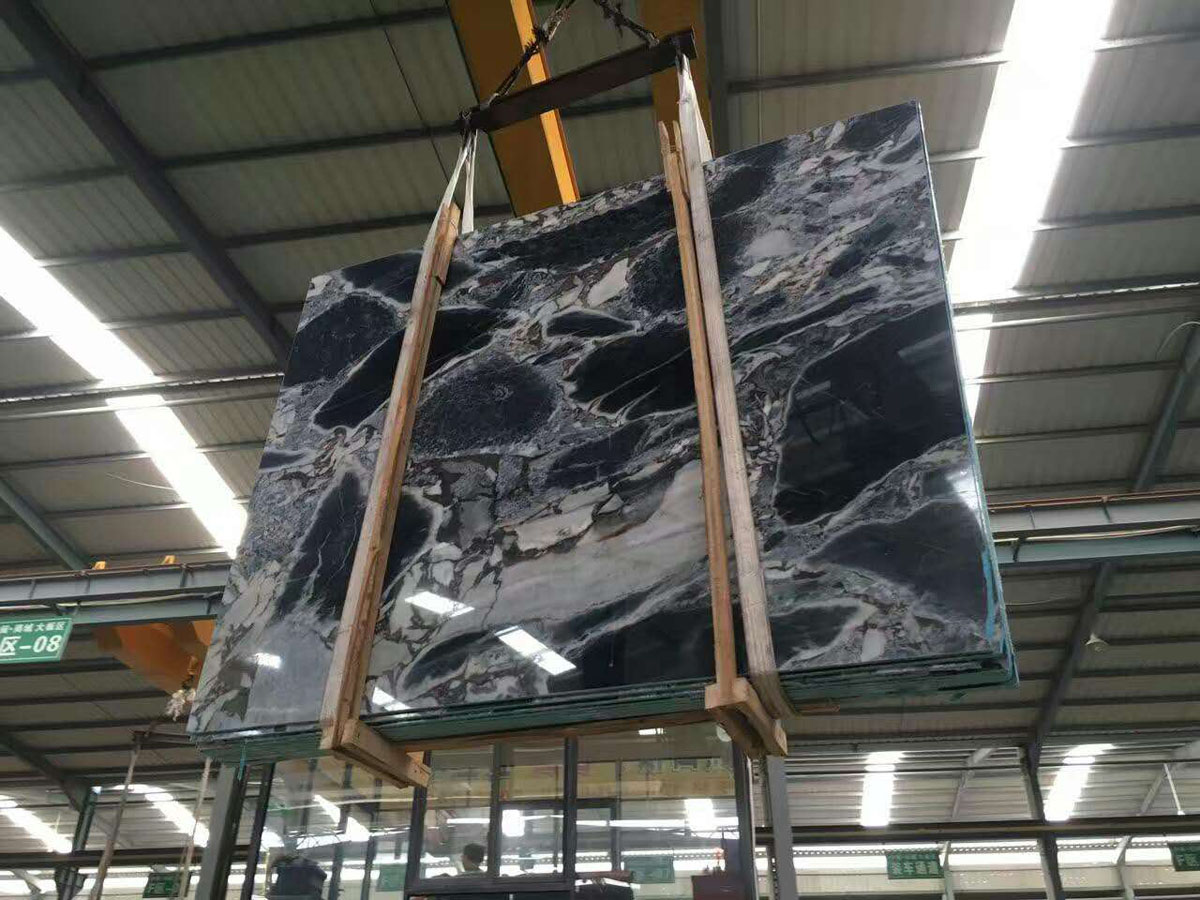 Galaxy Blue Marble Slabs
