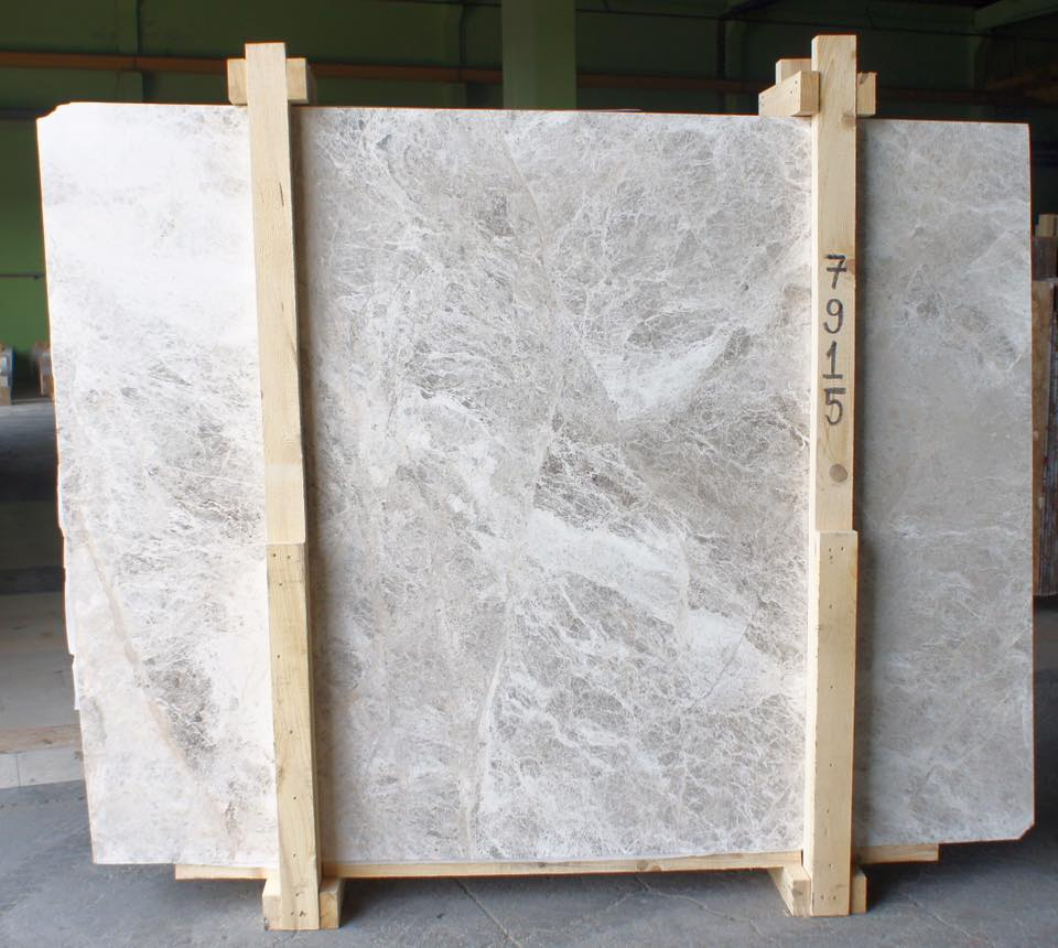 Galaxy Silver Marble Slab Turkish Polished Marble Slabs