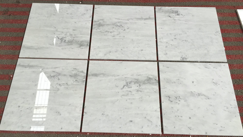 Galaxy White Marble Polished Tiles with Top Quality