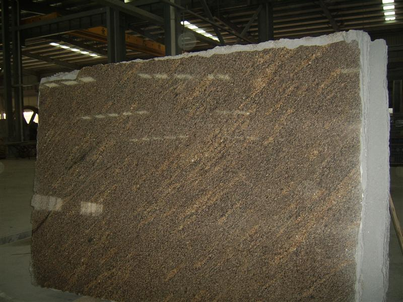 Giallo California Granite Slabs Brown Granite Stone Slabs