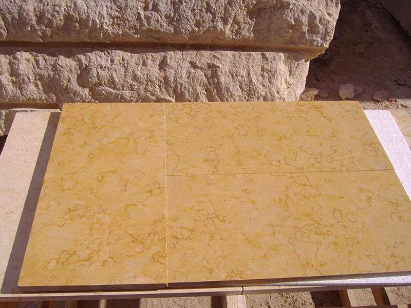 Giallo Cleopatra Marble Polished Tiles