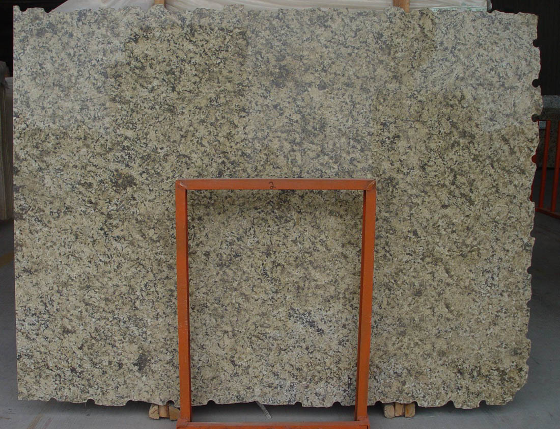 Giallo Farfalla Stone Slab Polished Beige Granite Slabs