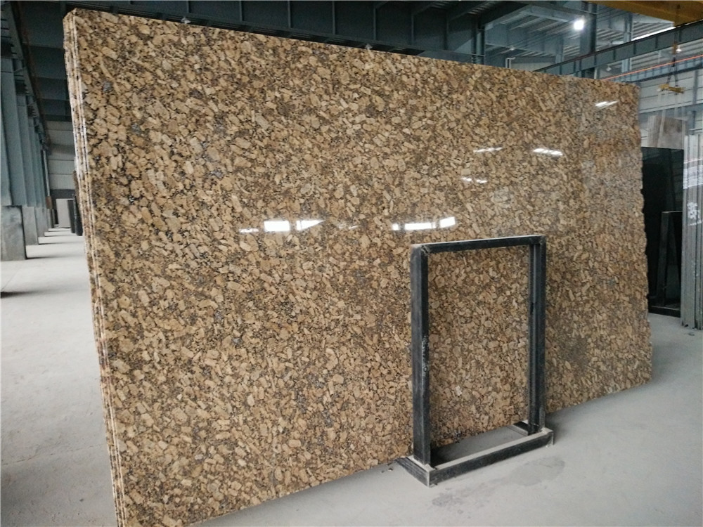 Giallo Fiorito Granite Brown Granite Slabs Polished Granite Slabs