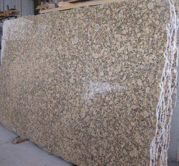 Giallo Fiorito Granite Slabs Polished Beige Granite Slabs