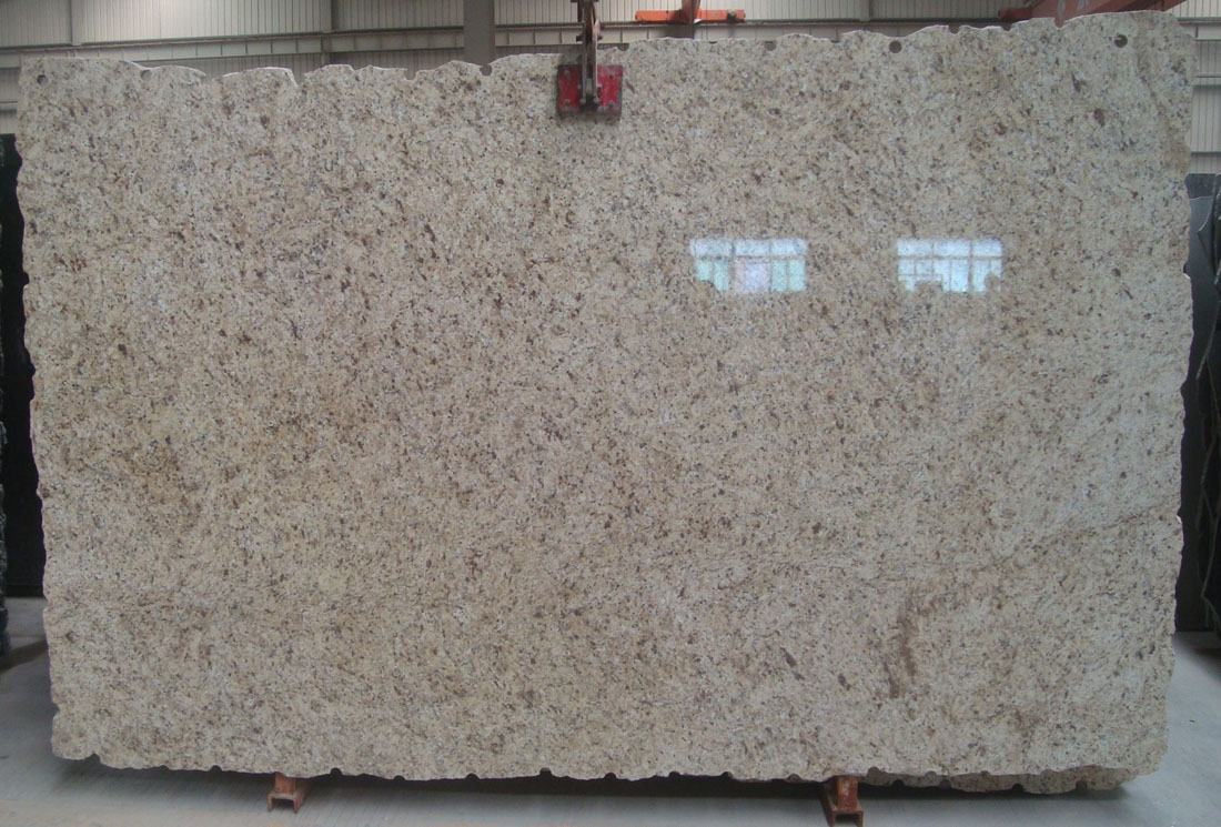 Giallo Oranmental Granite Slab Polished Beige Granite Slabs