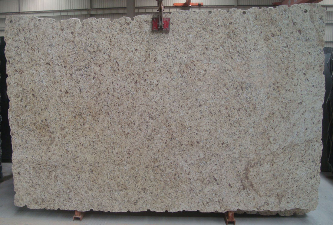 Giallo Oranmental Stone Slab Polished Granite Slabs