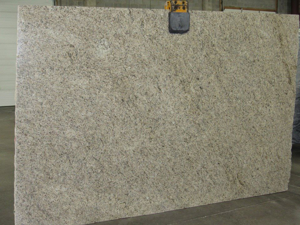 Giallo Ornamental Beige Granite Polished Granite Slabs