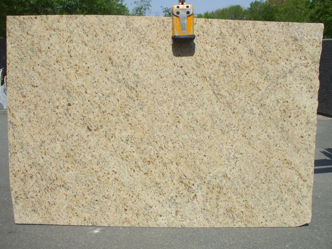 Giallo Ornamental Granite Big Polished Slabs