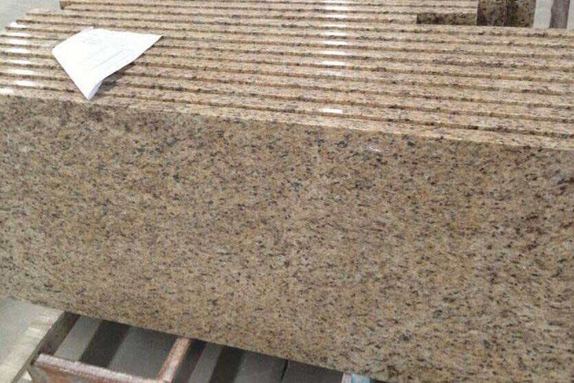 Giallo Ornamental Granite Countertop for Kitchen