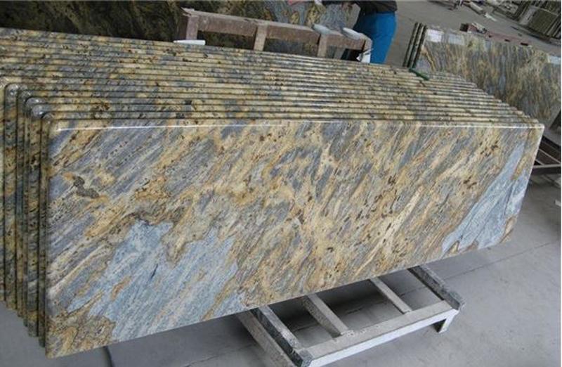 Giallo Ornamental Granite Countertops for Kitchen