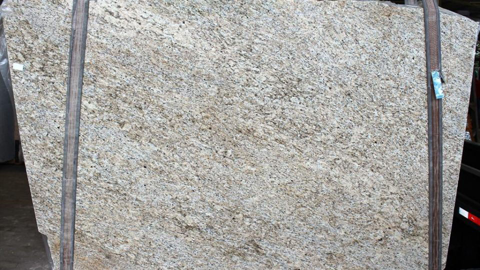 Giallo Ornamental Granite Slabs Beige Granite