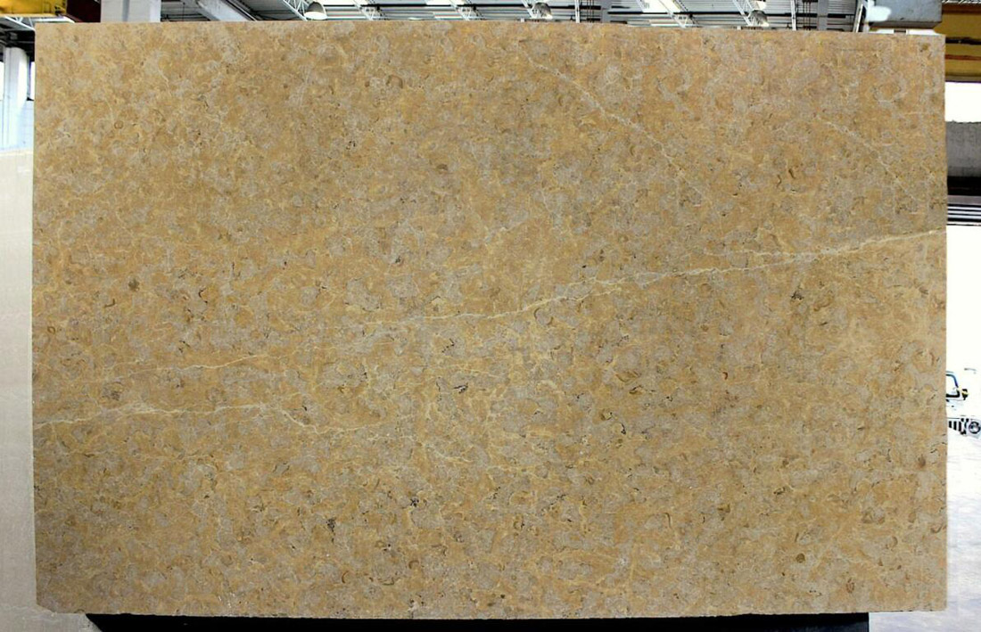 Giallo Reale Brushed Marble Slabs Yellow Marble Stone Slabs