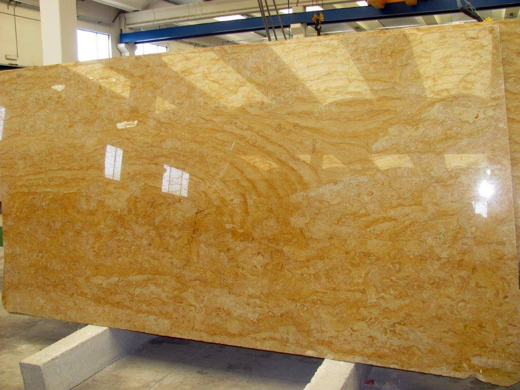 Giallo Reale Marble Yellow Marble Slabs from Italy