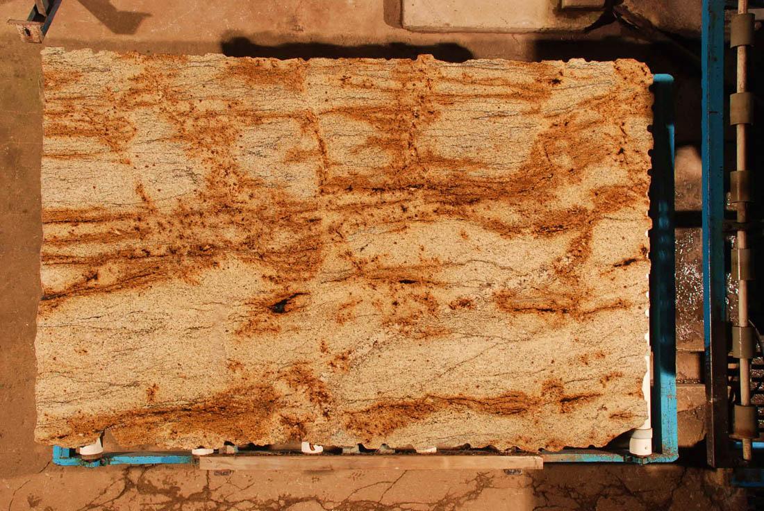 Giallo Renoir White Gold Granite Slabs