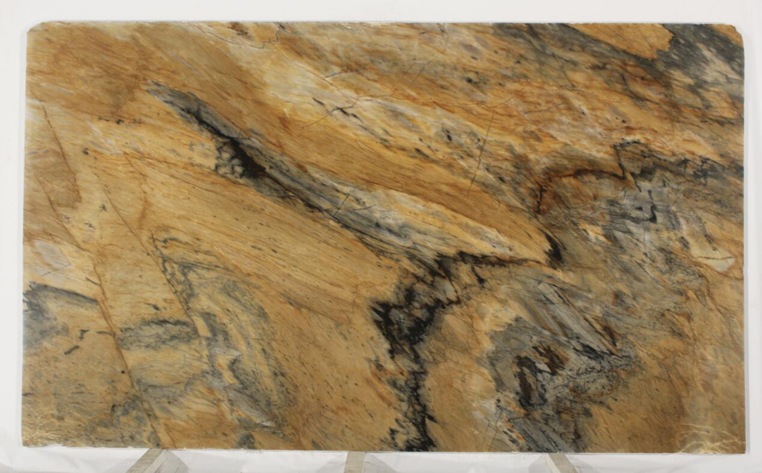 Giallo Siena Marble Slabs Polished Yellow Marble Slabs