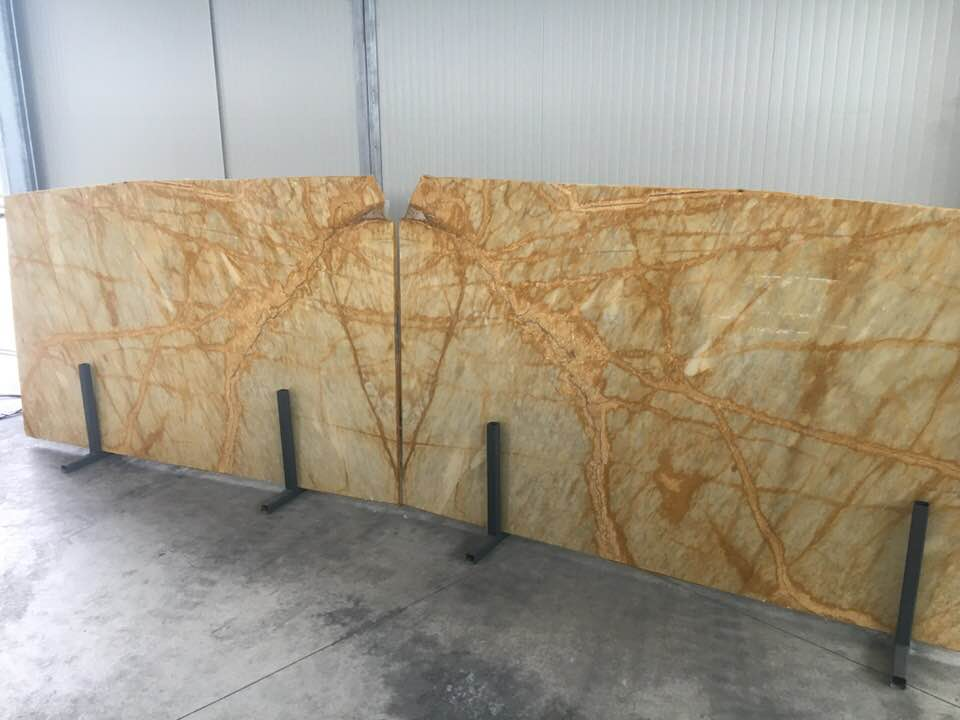 Giallo Siena Yellow Marble Polished Slabs 2 cm