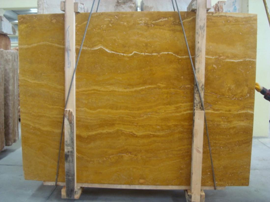 Giallo Travertine Slabs Yellow Travertine Stone Slabs