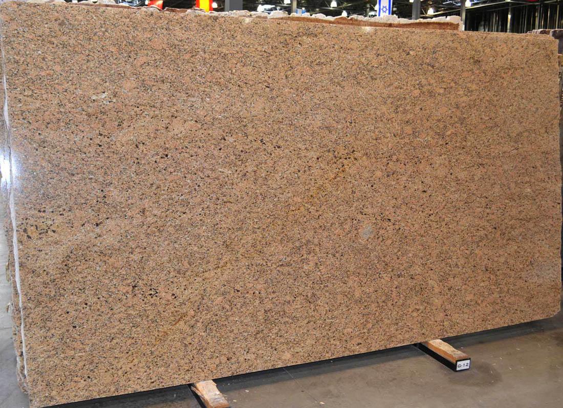 Giallo Veneziano Slab Brazil Brown Polished Granite Stone Slabs