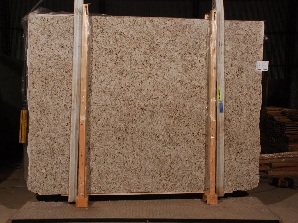 Giallo Verona Granite Slabs Polished Yellow Granite Slabs